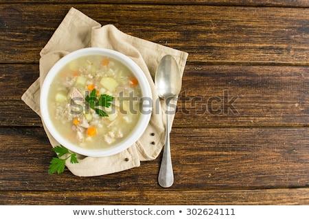 大麦 スープ ストックフォト © Dar1930