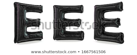Capital letter E Stock photo © grafvision