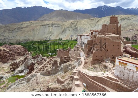 Basgo monastery. Ladakh, India Stock photo © dmitry_rukhlenko