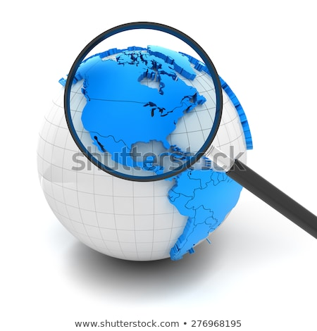 Magnifying Glass - Canada stock photo © kbuntu