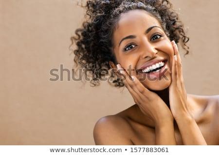 Diş bakım dişler fırçalamak yalıtılmış sevmek Stok fotoğraf © sahua