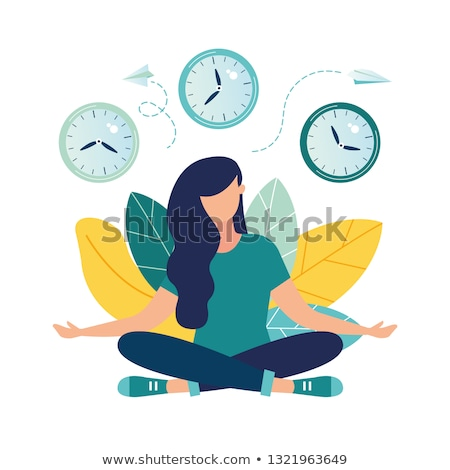 Time To Focus Clock stock photo © kbuntu