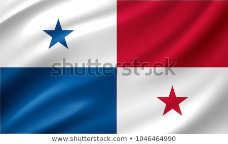 3D Panama flag  Stock photo © dacasdo