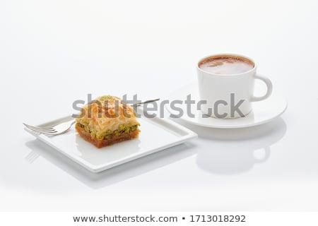 кофе кофе рамадан подготовка продовольствие кафе Сток-фото © shamtor