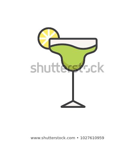 Margarita in a glass Stock photo © elenaphoto