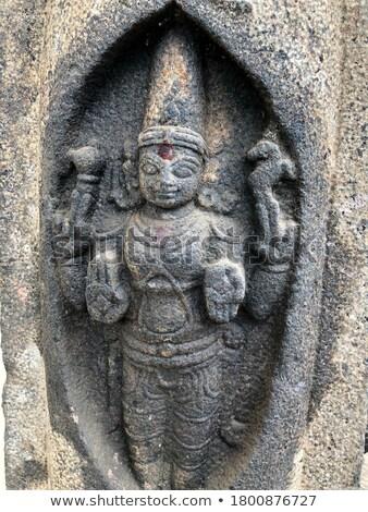 piedra · ídolo · templo · Nepal · religiosas · arquitectura - foto stock © smithore