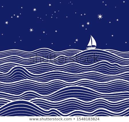 sea and sky background Stock photo © leungchopan