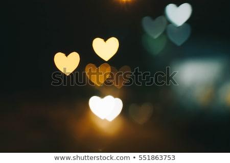 foto · liefde · tekening · hart · zand · strand - stockfoto © Gafter_Shuster