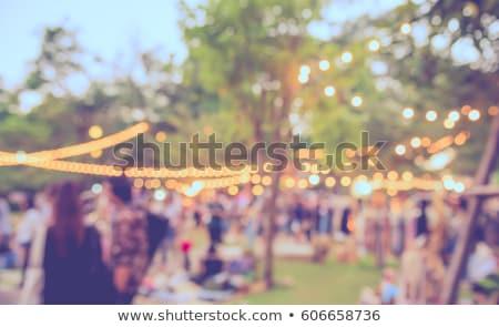 Soyut yaz parti dans mutlu güneş Stok fotoğraf © rioillustrator