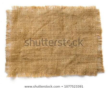 Brown gunny sack background Stock photo © williv