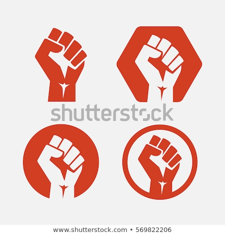 Stock photo: Communism, socialism and revolution icons