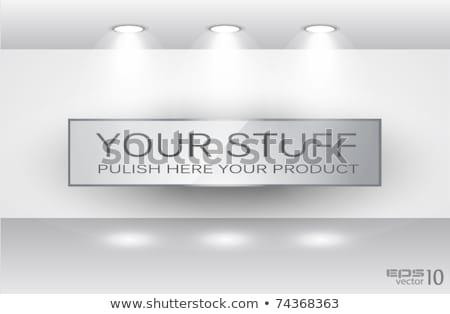 Shelf with LED spotlights  Stock photo © DavidArts
