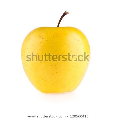 Praça maçã isolado branco estúdio Foto stock © boroda