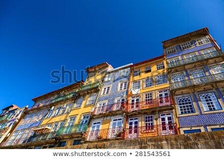 Trimestre Portugal casa rua viajar urbano Foto stock © phbcz