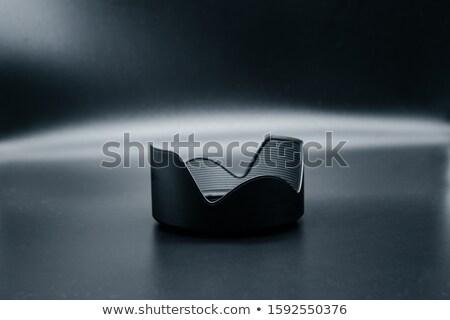 black lens hood Stock photo © RuslanOmega
