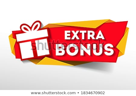 special bonus banner stock photo © marinini