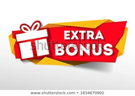 special bonus banner Stock photo © marinini