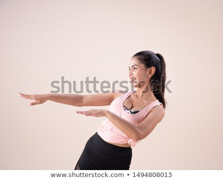 salsa dancer with hand stretched Stock photo © feedough
