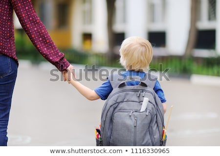 Schoolboy with satchel Stock photo © photography33