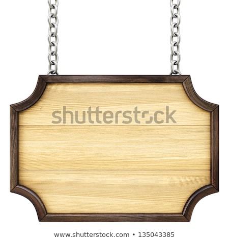 Keten gebarsten houten hout stedelijke Stockfoto © michaklootwijk