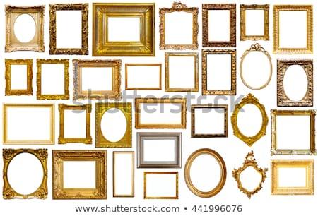 Old gilded frame Stock photo © smuki
