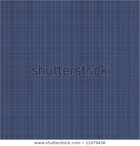 Dark navy blue canvas or fabric texture seamless repeat pattern stock photo © ratselmeister