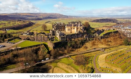 Royal Palace with the Great Hall at Stirling Castle in Stirling, Stock photo © TanArt