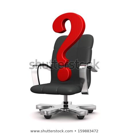 swivel armchair job stock photo © limbi007