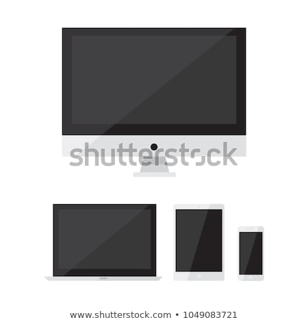 Stock fotó: Vector Electronic Devices Set