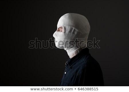 man with bandage on face Stock photo © ssuaphoto