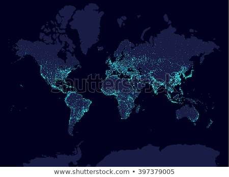 world map shine Stock photo © nicemonkey