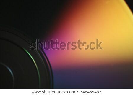 Płyta cd makro komputera muzyki Internetu technologii Zdjęcia stock © tainasohlman