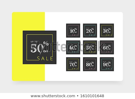 Sixty percent off Stock photo © stevanovicigor