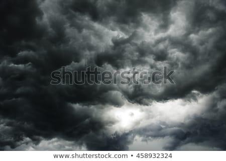 dark clouds Stock photo © FOKA