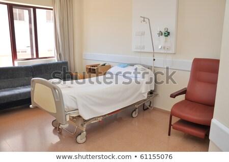 Limpio vacío hospital habitación listo uno Foto stock © pxhidalgo