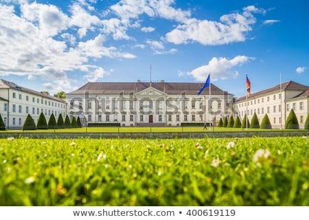 Presidents- paleis Berlijn Duitsland tuin groene Stockfoto © photocreo