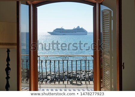 Cruiser in Mediteranean stock photo © TheFull360