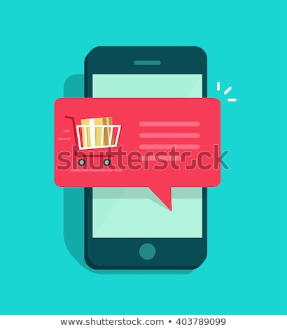 Telefoon messaging dienst vector abstract wereld Stockfoto © burakowski