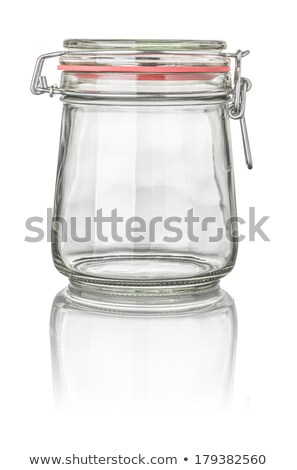 isolated conical canning jar stock photo © zerbor
