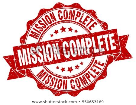 ミッション · タスク · 成功 · ヴィンテージ · ボタン · ファイル - ストックフォト © tashatuvango