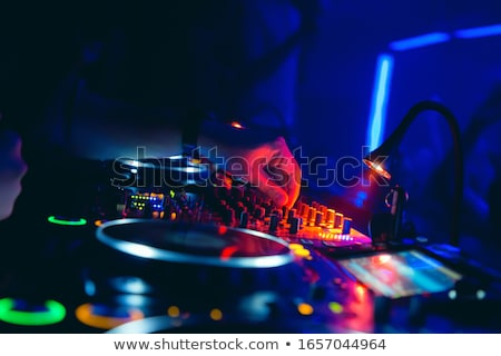 Disc Jockey And Audience Stock photo © derocz