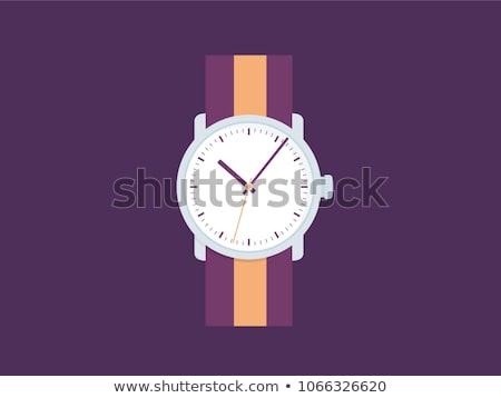 時間 訓練 紫色 ヴィンテージ デザイン フレーム ストックフォト © tashatuvango