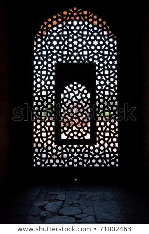 могилы · Индия · Дели · архитектура · небе · время - Сток-фото © meinzahn