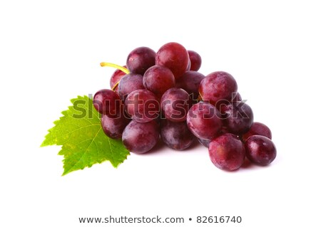 Perfect bunch of red grapes  Stock photo © natika