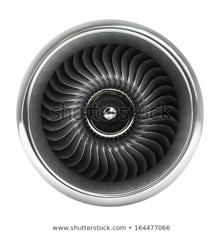 Front view of a jet engine Stock photo © Kirill_M
