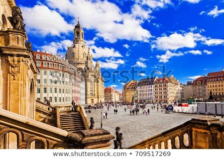 The Neumarkt  square, Dresden Stock photo © joyr