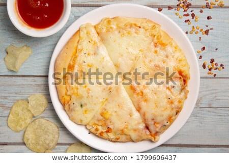 сыра · питание · ветчиной · свежие · гранат · яблоко - Сток-фото © cypher0x