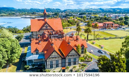 Rotorua - New Zealand Stock photo © jeayesy