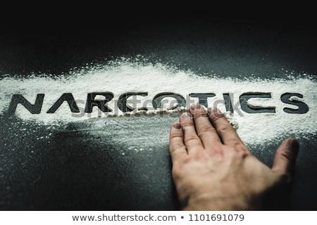 cocaïne · médicaments · dépendance · autre · coupé - photo stock © gemenacom
