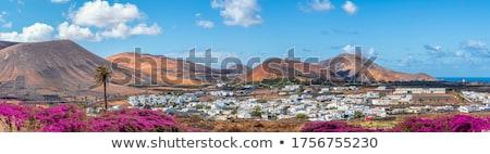 napfelkelte · gyönyörű · falu · Santorini · sziget · égbolt - stock fotó © meinzahn
